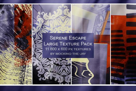 Texture Pack #3 Serene Escapes by Mocking-The-Jay