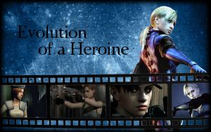 Evolution of a Heroine Version 2 by Isobel-Theroux