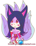 Ahri by SinisterlyCute