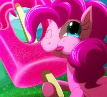 Pinkie's Popsicle by C-D-I