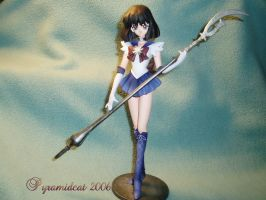 Sailor Saturn resin model by Pyramidcat