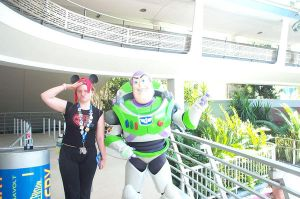 Me and Buzz Lightyear by Gosalyn2007