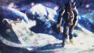 Norn in the snow by SaintElmosWire