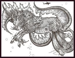 Hippocampus Equus by 1pen