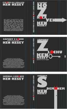 KEN KESEY BOOKS vol.2 by AndyLibre