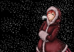 Speedpaint: Winter clothing by Fralle-chan