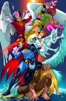 X-Gatchaman! by snibbits