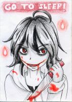 Jeff za Killer by Gray-Zakuro