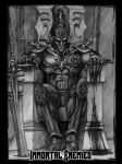 Khaine at Rest by tacticangel