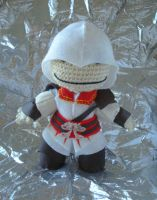 Ezio Sackboy by MarinaYeah