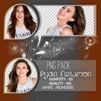 Png Pack / White Monsters / Ryan Newman by Whitemonsters