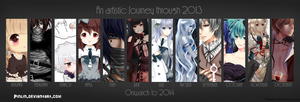 Art summary 2013 by Pinlin