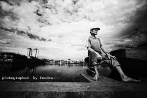 old man by fendra