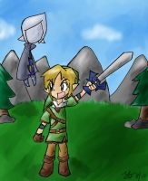LoZ: Skyward Sword by tooncellos219