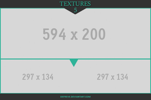Resource Preview Template - Turquoise Triangle by Defreve