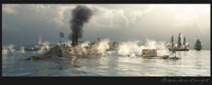 Duel of the Ironclads by graught