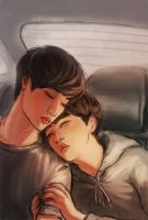 kaisoo| the space between dream and reality by Julia-Yes