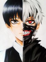 Kaneki Ken. by Exorcist95
