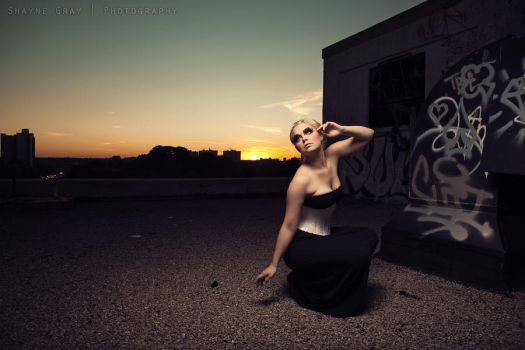 Urban Exploration Roof top tastic by shayne-gray