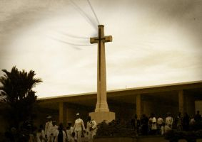 ANZAC Cross by kirraleadatsme