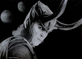 God of Mischief by OliveArtStation