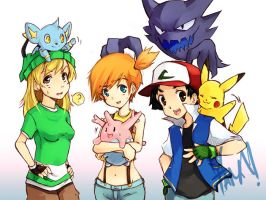 Pokemon Team by LazyTurtle