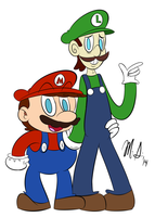 The Mario Bros by Superion123