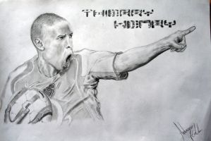 Thierry Henry by deas89