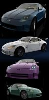 Nissan Z350 - revisited3 by lycorda