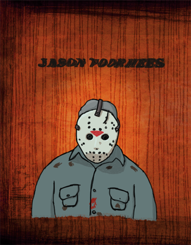 Jason Voorhees - Don't Starve by JohnSegway