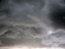 thundery clouds by Merlinator-Stock