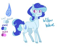 Willow Wave reference by EllaMRed