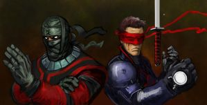 Ermac and Kenshi MK by AndgIl