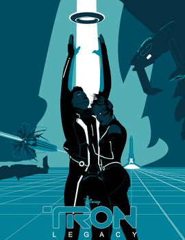 Vector Remake of Tron by justproud2b