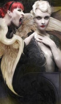 heaven and hell by riven1965