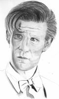Matt Smith : The Eleven Doctor by manon-D
