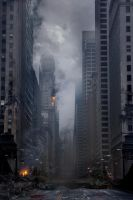 Chicago in Ruins by atomhawk