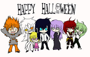 Happy Halloween-WIP by MischiefJoKeR