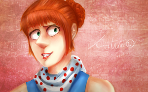 LUCY despicable queue by AnnaK1332