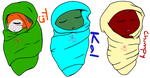 baby MG Mutanimals by MR-ThunderOcean