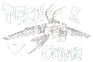Tech E. Coyote by T-Shadow-Dragon