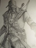 AC III - Connor Kenway (Ratohnhake:ton) by Desmond1996
