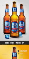 Beer Bottle Mock-up by mixmedia87