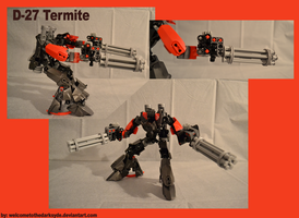 Destroyer 27 Termite by welcometothedarksyde