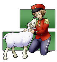 aph: NZ and Sheep by Rose-McSugar