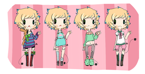 Romo Reference Sheet Ver. 1 by GangstaCakes