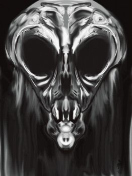 Alien Skull by HauntNav