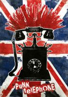 Punk Telephone by sweetlittlekitty