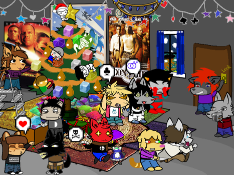 FurFreaks Gristmas Room by Firenz