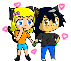 Chibi metalshipping by charlot-sweetie